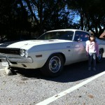 1970 Dodge Challenger R/T and Little Sister