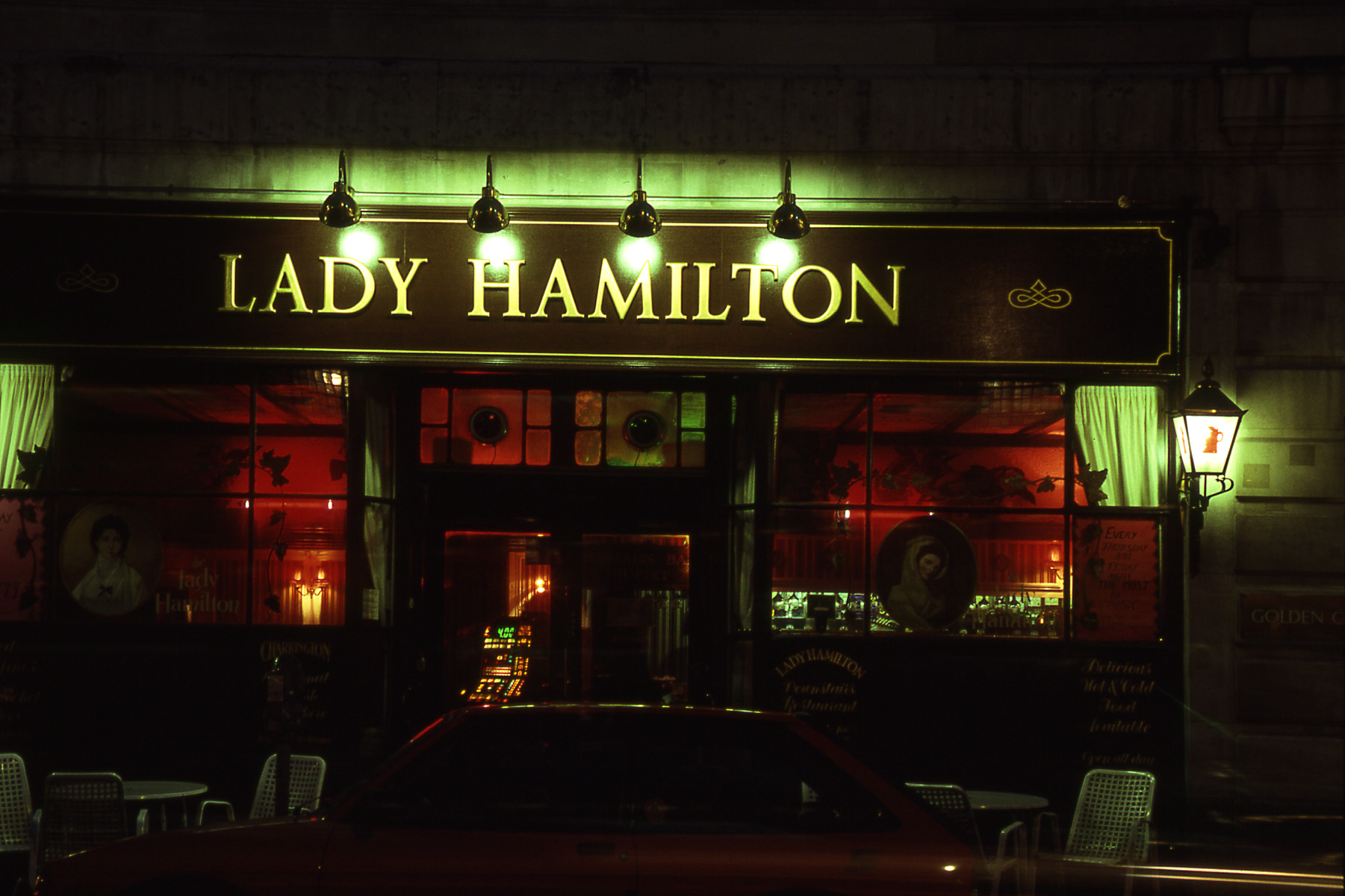 The Lady Hamilton - London 1989