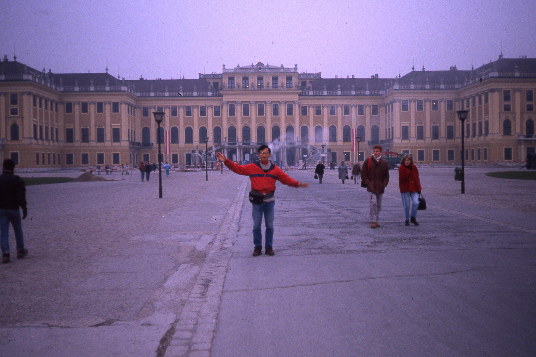 Building my Influence at Versailles 1989Photography by Challen Yee