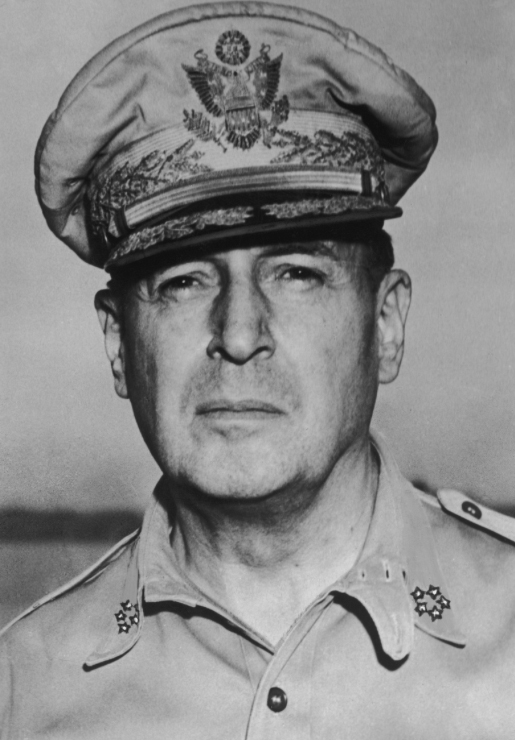 General Douglas MacArthur. Source: worldwar2pacificwars.weebly.com