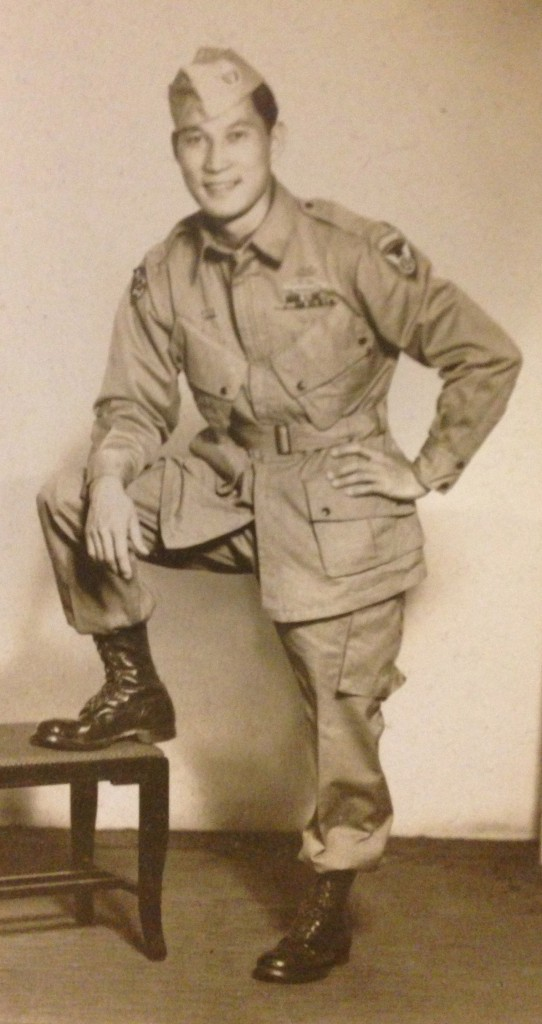 Dale F. Yee Pfc. 511th Parachute Infantry Regiment, B-company (WWII).