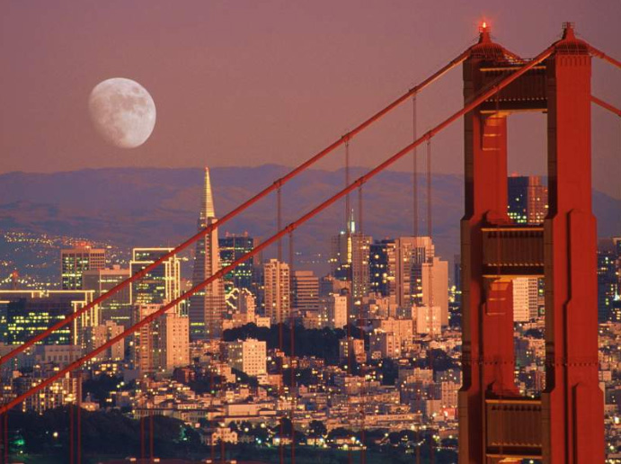 Beautiful San Francisco, the City by the Bay. Image source: mcmanuslab.ucsf.edu