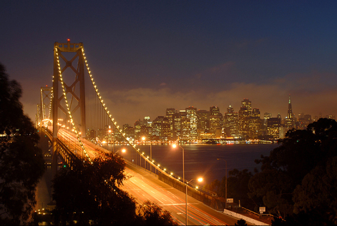 San Francisco, the beautiful City by the Bay.  Image source: blog.wsd.net