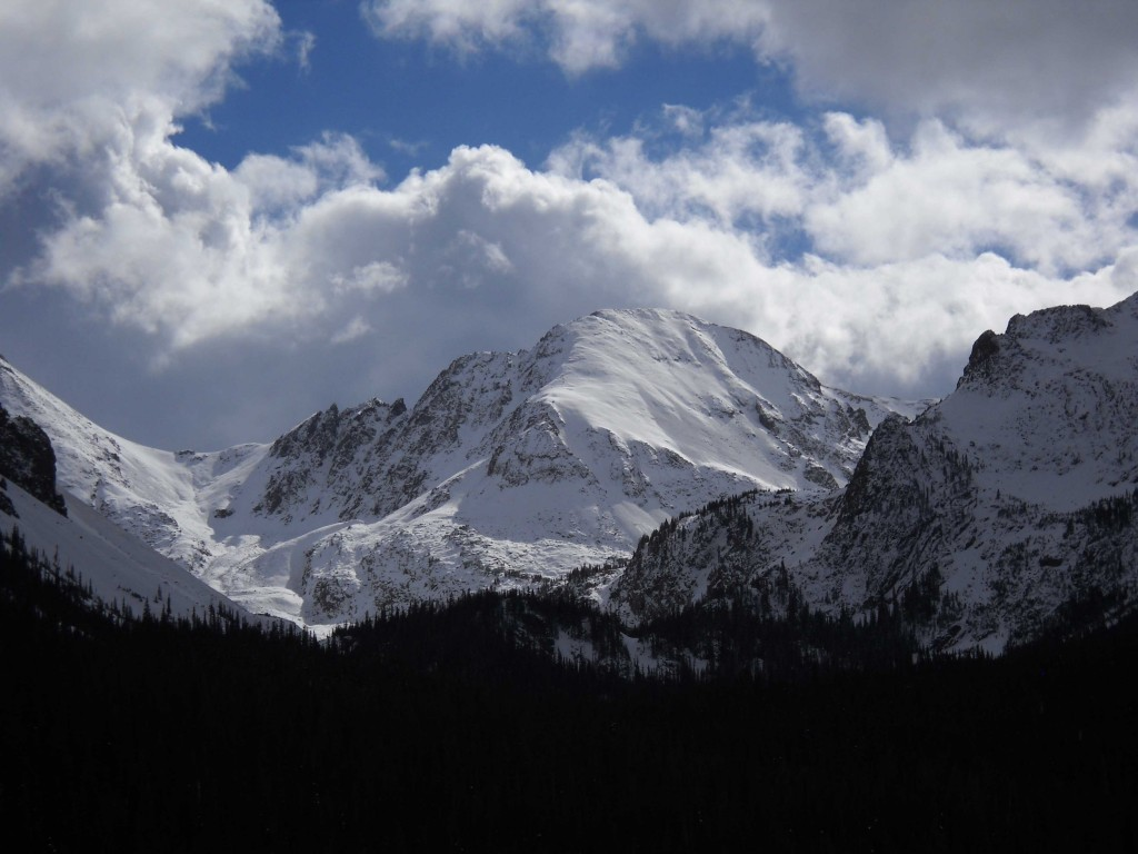 Michael's Mountain. The Rockies as portraited by a friend. Source: Michael Avery