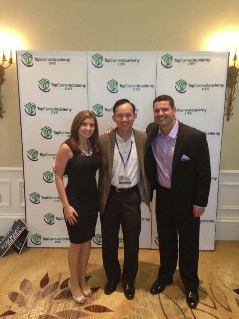 With the awesome Jessica and Ray Higdon, hosts of Top Earner Academy Live 2014.