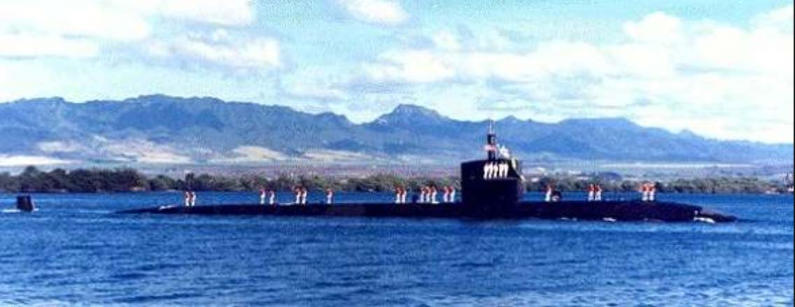 """Aloha"" Bremerton, coming back into Pearl Harbor, Hawaii. source: Google images"