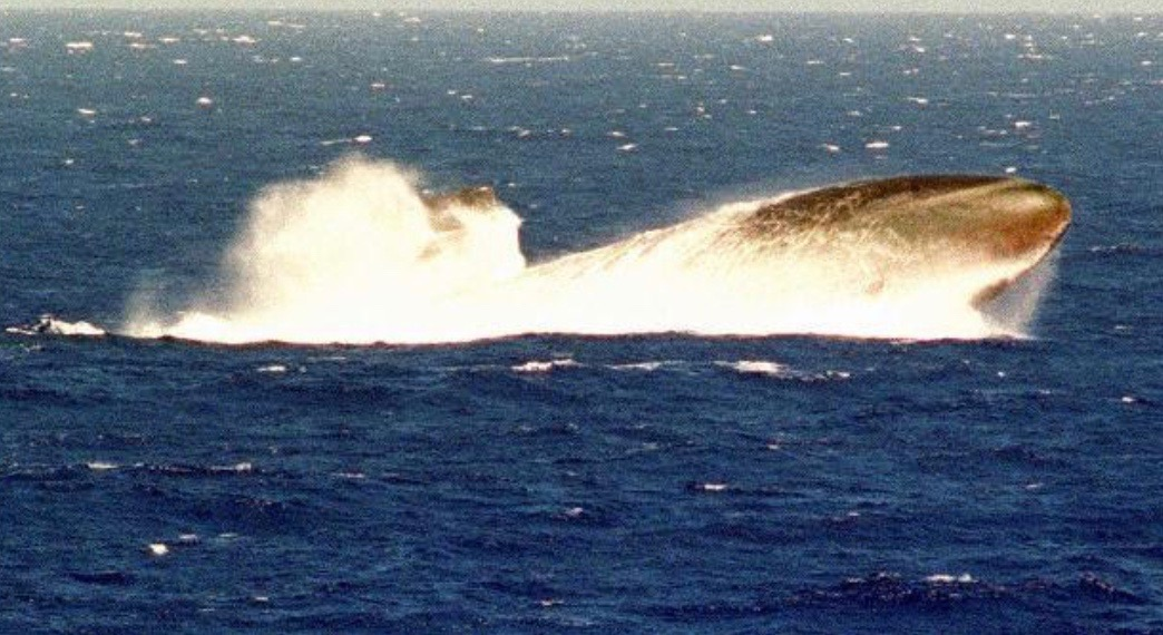 Emergency Surface - USS Bremerton SSN698 (image source google.com).